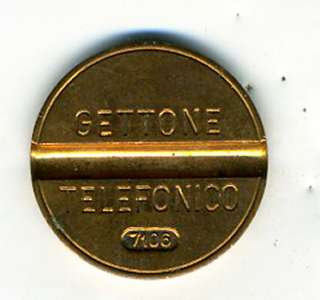 Old Telephone Token Gettone Telefonico