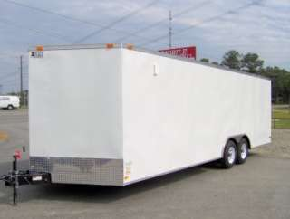 ATV cargo motorcycle trailer racecar car hauler toy hauler 8.5x24 26