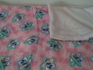Mickey and Minnie Mouse Aloha Soft Fleece Blanket #74