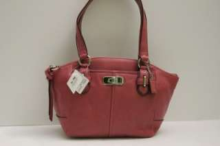 COACH CHELSEA LEATHER SMALL BAG GINGER BEET 45823