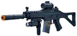 Double Eagle Airsoft Electric Assault Rifle SIG 552 AEG Semi Full Auto