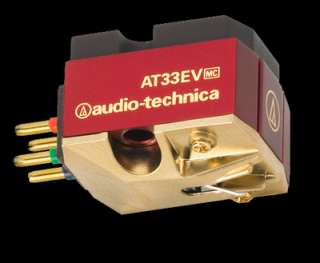 MINTY SUPERB AUDIO TECHNICA AT33 EV MC Phono Cartridge LOW MILES $899
