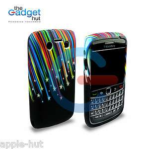 STAR GEL SILICONE CASE COVER SKIN FOR BLACKBERRY 9700 BOLD