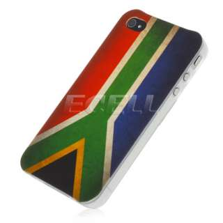 GENUINE HEAD CASE DESIGNS SOUTH AFRICAN FLAG MATTE CASE FOR iPHONE 4