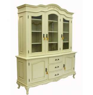 French Style Furniture Ivory Dresser Sideboard