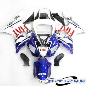 CARENE ABS YAMAHA R6 1998 2002 FIAT MOTO GP