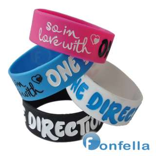 So In Love with wristband One Direction Ticket Concet Bracelet Harry