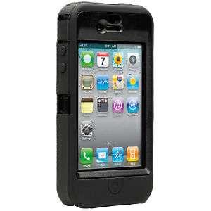 OTTERBOX DEFENDER CASE iPHONE 4 4G   BLACK   Otter Box
