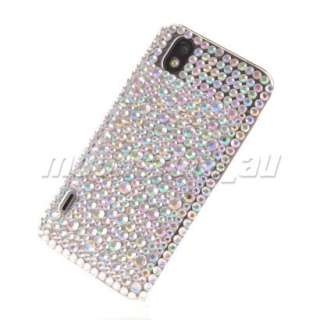 BLING GLITTER CRYSTAL RHINESTONE CASE COVER LG OPTIMUS BLACK P970 33