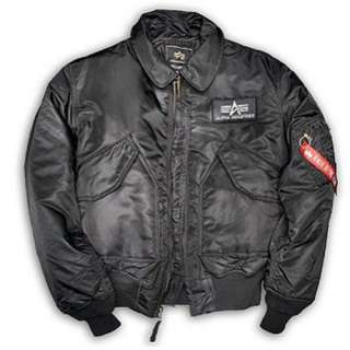 Alpha Industries CWU Flying Skull black Bomberjacke neu