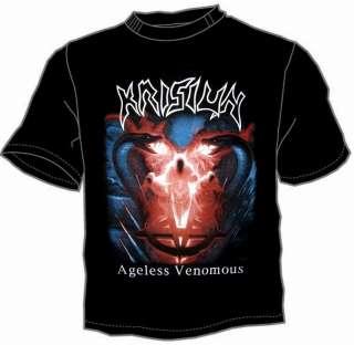 KRISIUN Venomous Death Metal Mens T Shirt Size M