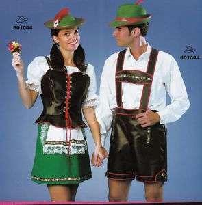 Costume carnevale Uomo Tirolese tg. 48 50/NUOVO