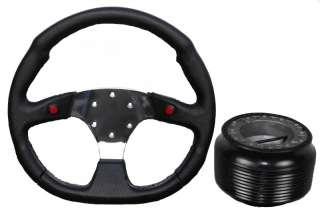 CHROME F1 STEERING WHEEL MITSUBISHI FTO GTO SHOGUN PAJERO boss hub kit