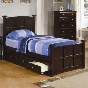 Coaster Jasper Twin Storage Bed: Home & Kitchen