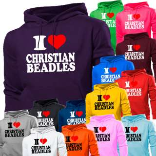 LOVE CHRISTIAN BEADLES HOODIE HOODY WOMENS MENS BOYS GIRLS KIDS NEW