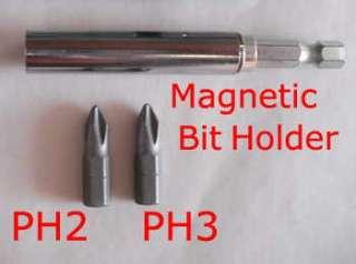 TEK SCREW MAGNETIC DRIVE BIT   7 PIECE SET 6mm 7mm 8mm