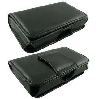 Features   Nokia 1616 BLACK LEATHER BELT CASE POUCH