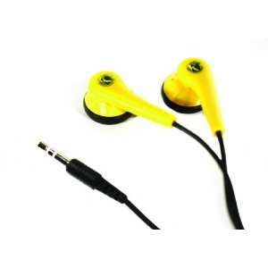 Kicker EB51 Premium Full Range Earbuds (Yellow