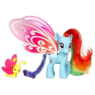My Little Pony Deluxe Pony   Glimmer Wings Rainbow Dash   FAO Schwarz