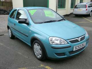 2004 Vauxhall/Opel Corsa Turquoise 1.2L