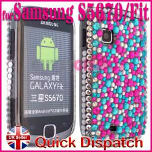 BLING DIAMOND CASE COVER FOR SAMSUNG GALAXY FIT S5670