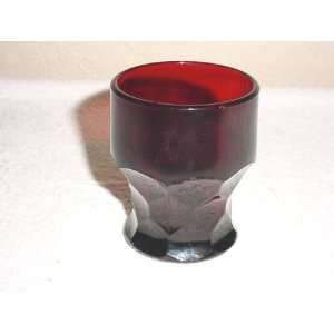 com Anchor Hocking Royal Ruby Georgian Juice Tumbler Everything Else