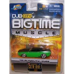 Jada Toys 1/64 Scale Diecast Big Time Muscle 1970 Plymouth
