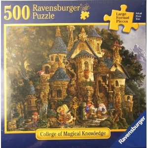 Ravensburger Puzzle College of Magical Knowledge 500 Large Format