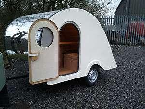 teardrop caravan camping glamping custom hotrod vw camper trailer