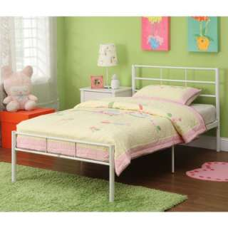 Home Loft Concept Twin Metal Bed Frame  Wayfair