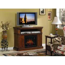 Classic Flame Margate Electric Fireplace in Caramel Oak   26MM1754