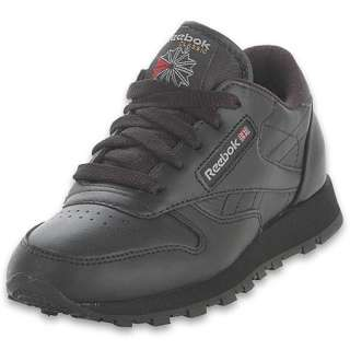 Reebok Preschool Classic Leather  FinishLine  Black