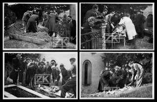AUTOPSIE CADAVRE Exhumation 4 Photos DE LUDRE Cimetière Vichy