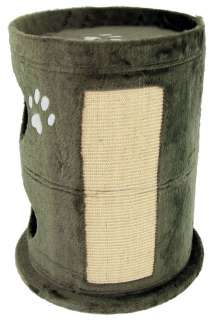 CAT BOARD HOUSE FURNITURE SCRATCH POST TREE ACTIVITY KITTEN GYM TOWER