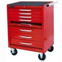 White International 7 Drawer Tool Box Chest Roller Cabinet Lockable