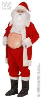 FANCY DRESS INFLATABLE BEER BELLY STOMACH STUFFER HUNCHBACK SANTA SUIT