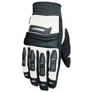 JOE ROCKET VELOCITY GLOVE (X LARGE) (WHITE/BLACK