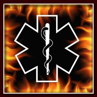 EMT Badge airbrush stencil template harley paint