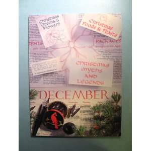 Years of Calligraphic Christmas Cards Cynthia White Foster Books