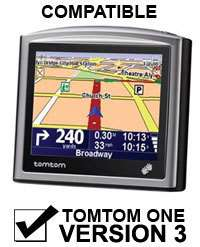 Compatible con TomTom ONE V2, ONE V3, ONE V3 CLASSIC