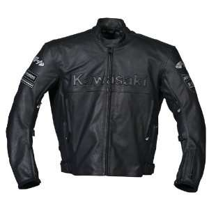 Joe Rocket Kawasaki ZX Mens Leather Motorcycle Jacket