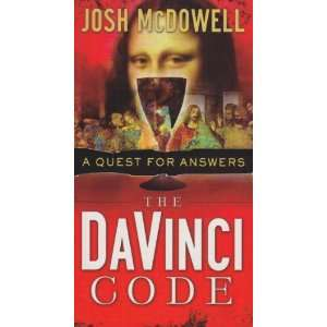 Vinci Code a Quest for Answers (9781850787006): Josh McDowell: Books
