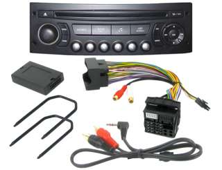 CITROEN C2 C3 C4 C5 C8 Car MP3 iPod AUX INPUT Adaptor CTVPGX011 & PC5
