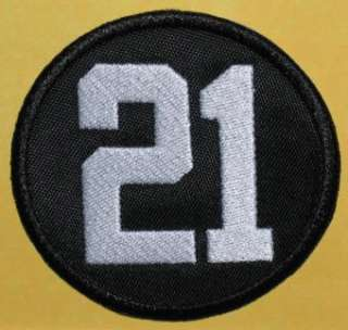 WASHINGTON REDSKINS SEAN TAYLOR MEMORIAL #21 NFL PATCH