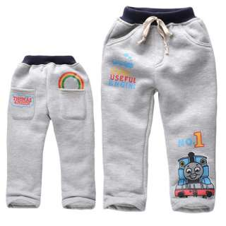 Gray Boys Thomas The Train Print Pants 2 8 Yrs C10038GY