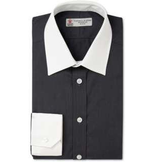 Turnbull & Asser Contrast Collar and Cuff Cotton Shirt  MR PORTER