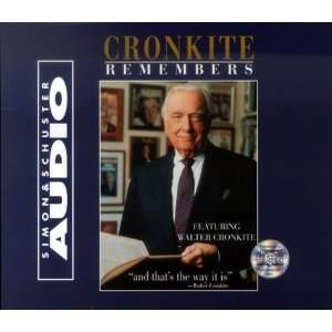 Cronkite Remembers [Audio CD]: Walter Cronkite: Books