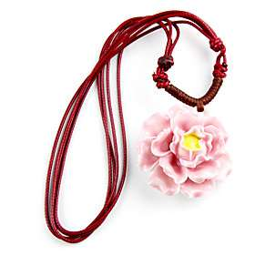 Original Hand woven Necklaces and Chinese Style High Quality Ceramic