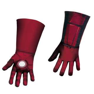 Deluxe Kids Iron Man Gloves   The Avengers Costumes
