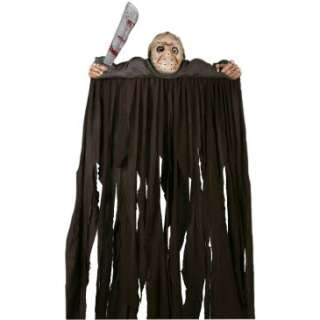 Friday The 13th Jason Door Topper with Curtain and Sword, 29389